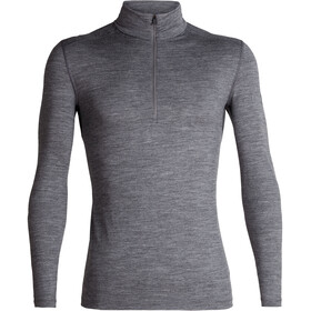 Icebreaker 200 Oasis LS Half-Zip Top Herrer, gritstone heather